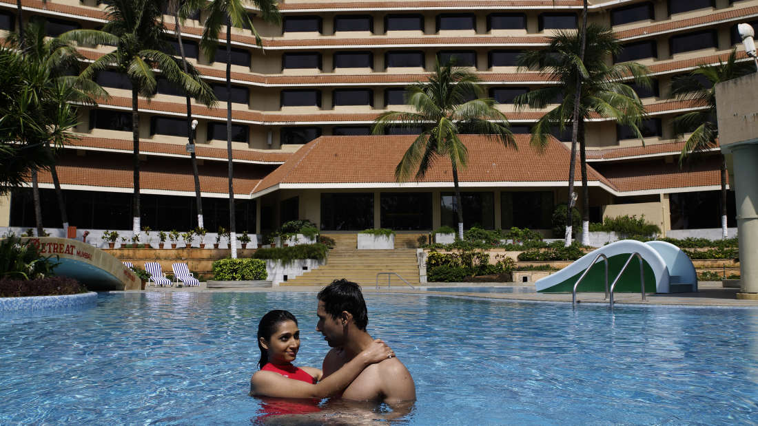 Swimming Pool at our Madh Island Resort - The Retreat Hotel and Convention Centre Madh Island Mumbai