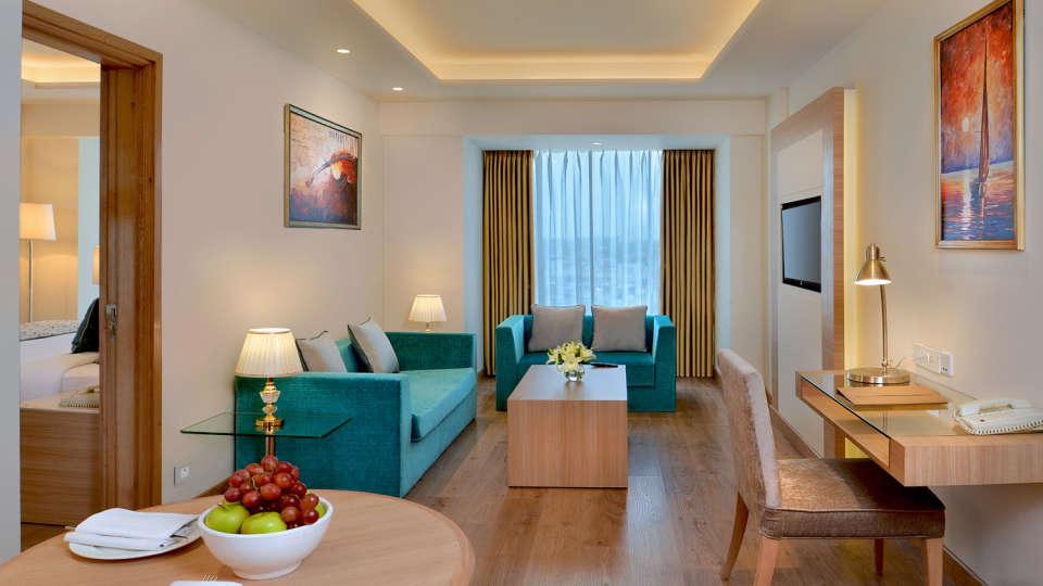 Suite Living at Golden Sarovar Portico Amritsar