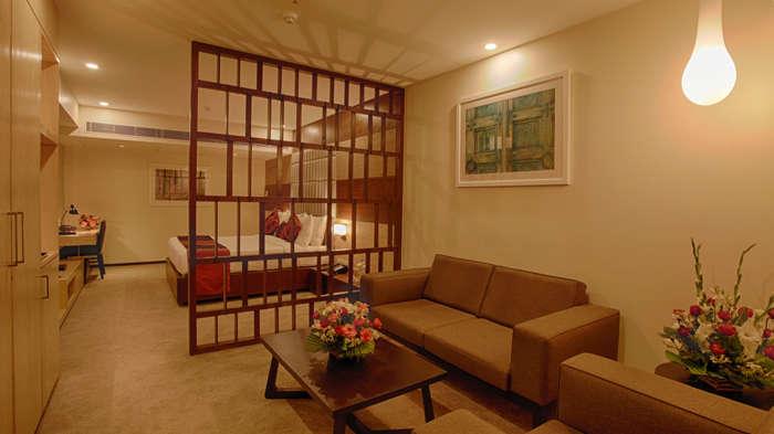 Suite  Levana Hotels  Hazratganj  Hotels near Lucknow Railway Station