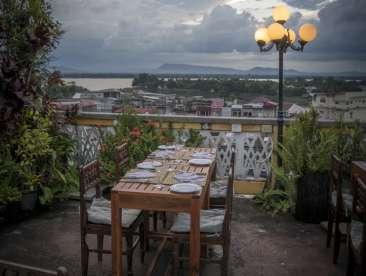Pakse Hotel & Restaurant, Champasak Pakse Dining 2 Pakse Hotel Restaurant Champasak