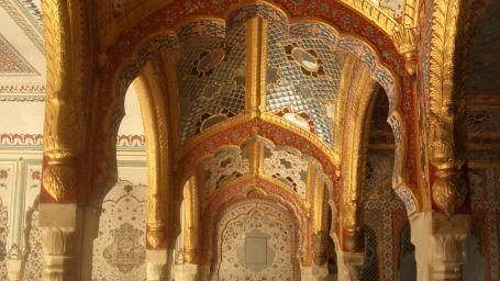 Chomu Palace Old Durbar Hall and Sheesh Mahal 2005 View 5 CIMG1792