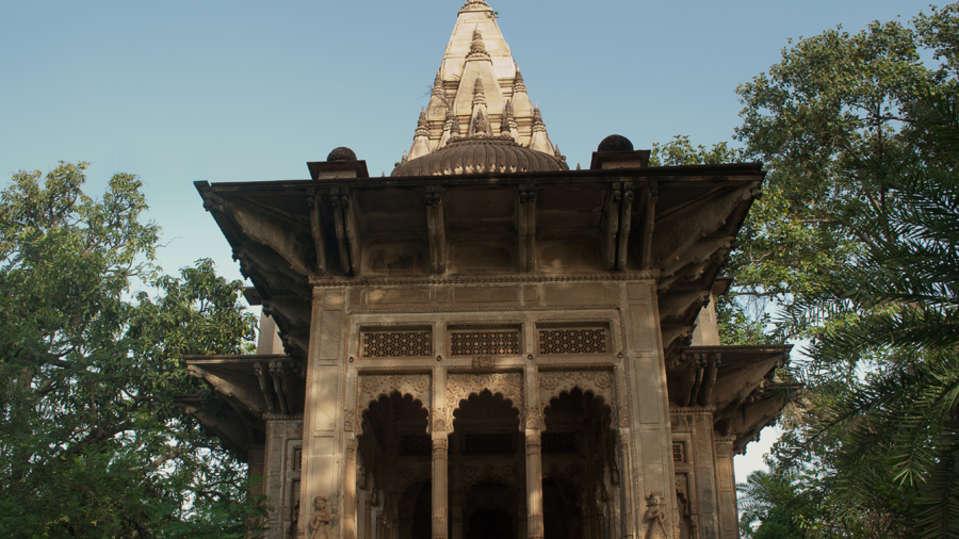 Deo Bagh - 17th C, Gwalior Gwalior A Jadhav family temple Deo Bagh Gwalior