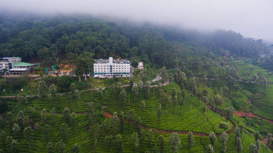Misty Mountain Resort, Munnar Munnar front view Misty Mountain Resort Munnar 4