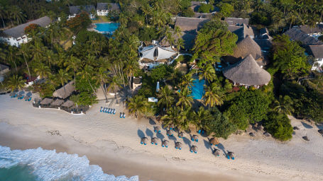 Aerial view of Leisure Lodge Beach and Golf Resort
