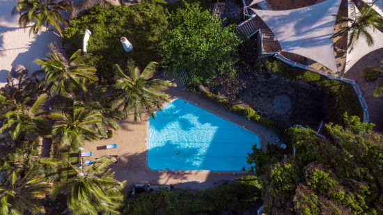 Aerial view of Swimming pool at Leisure Lodge Beach and Golf Resort
