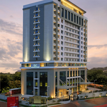 Facade Radisson Hyderabad Hitech City Hyderabad 1