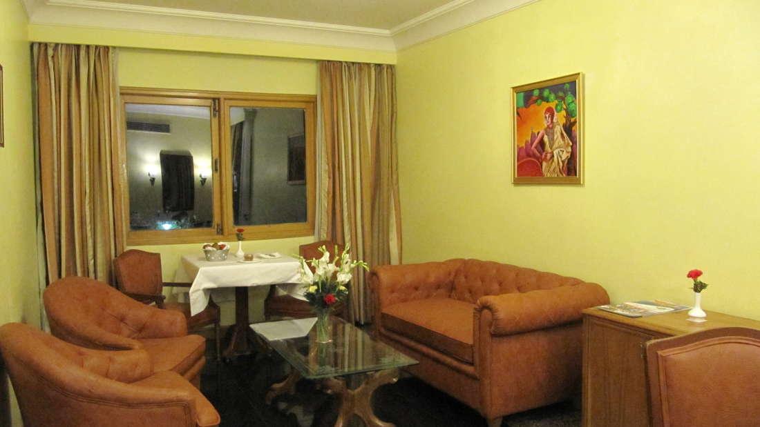 Suite Living Room Hotel Ritz Plaza Amritsar