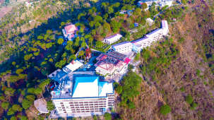 Aerial View-Timber Trail Heights The Terrace Resort Parwanoo