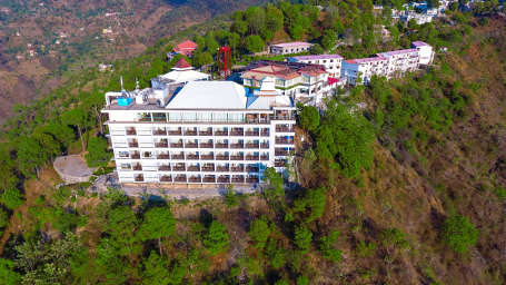 Aerial View of The Terrace Resort Parwanoo