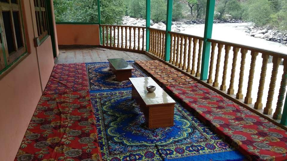 River View Room Parvati River Cottage Kasol 3