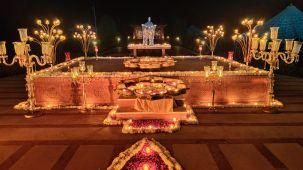 Decor - Gala Dinner at Umaid Lake Palace