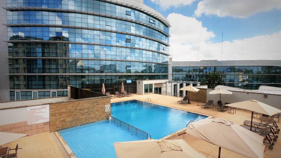 Swimming pool at Boma Nairobi, hotel in Nairobi 2