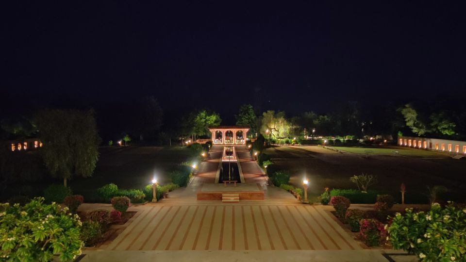 Outdoor Lawns at Night