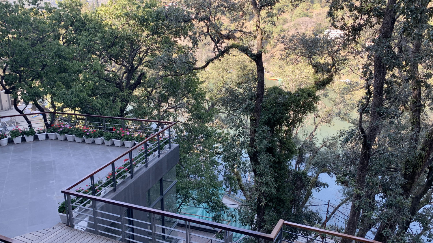 Bhimtal lake view point in Nainital, Hotel near Bhimtal Lake, Rosefinch Sarovar Portico, Bhimtal-10
