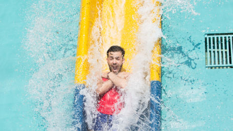 Best Water Park in Bangalore  Amusement Park In Bangalore fun things to do in Bangalore things to do in Bangalore today 256Wavy and Vertical Fall 1