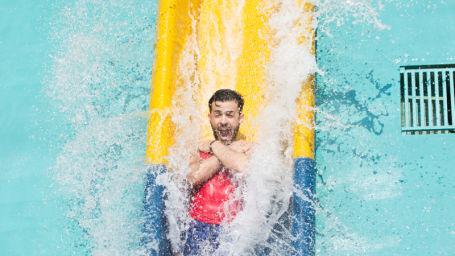 Best Water Park in Bengaluru  Amusement Park In Bengaluru fun things to do in Bengaluru things to do in Bengaluru today 256Wavy and Vertical Fall 1