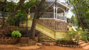 The Verandah In The Forest - 19th C, Matheran Matheran A side view of the Verandah The Verandah In The Forest Matheran