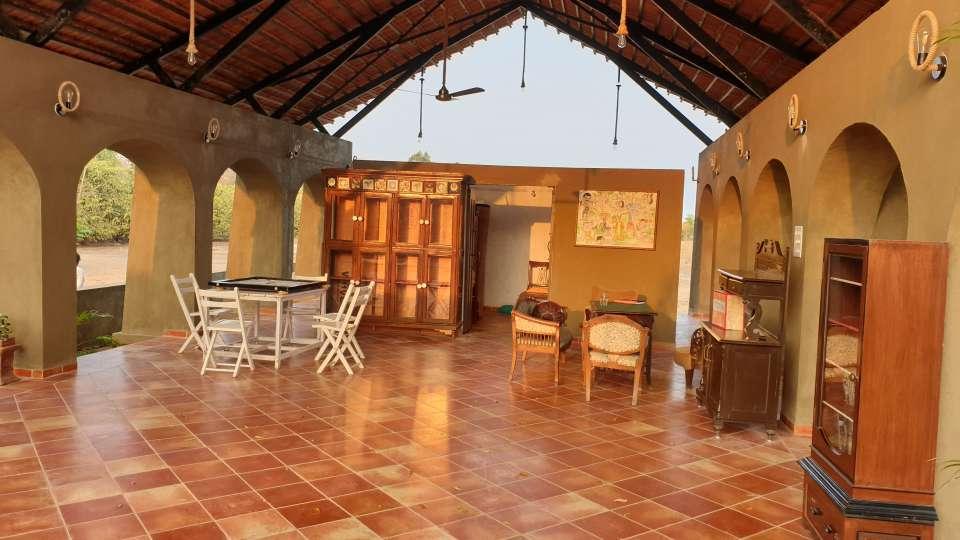 Reception cum Lounge Bodhvann Resort Tadoba 4 qcp6xj