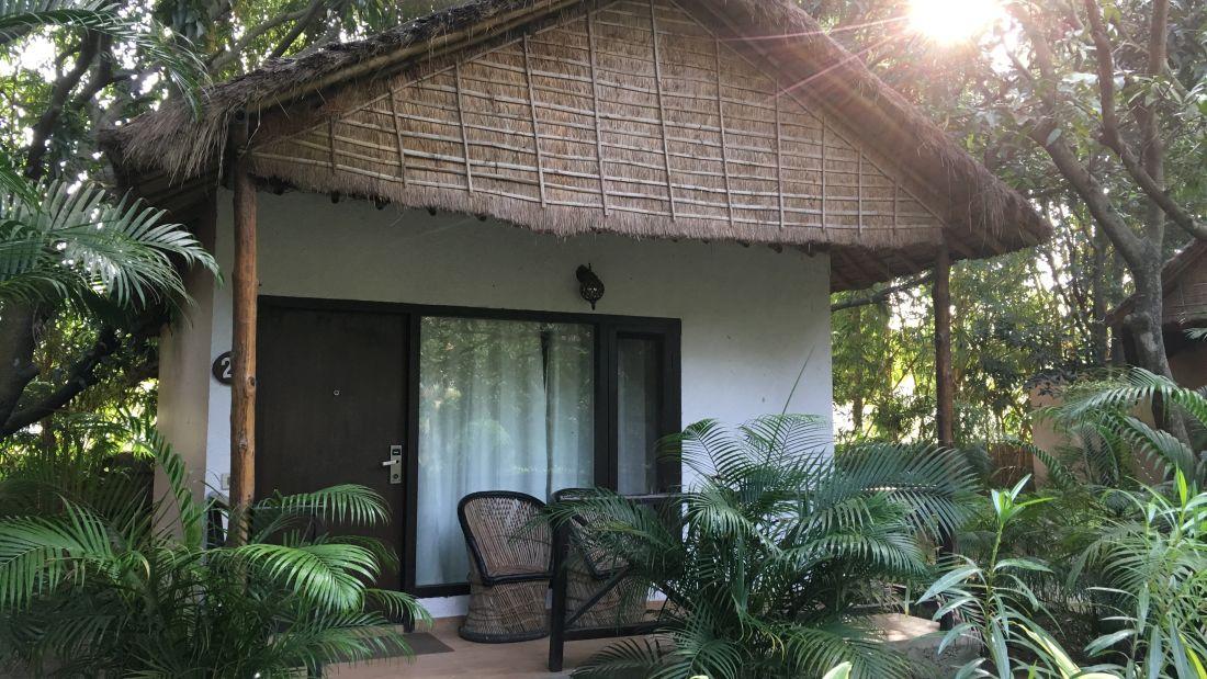 Jungle Cat Deluxe Cottage at Corbett Wild Iris Spa Resort 1