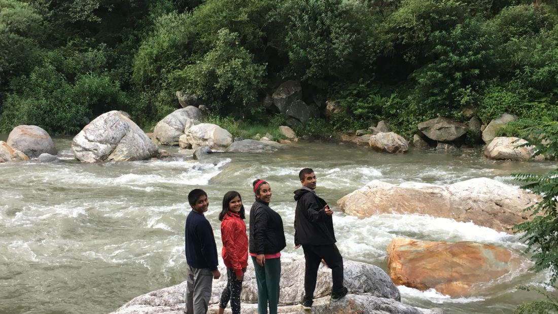 Let s Camp Tirthan activity river