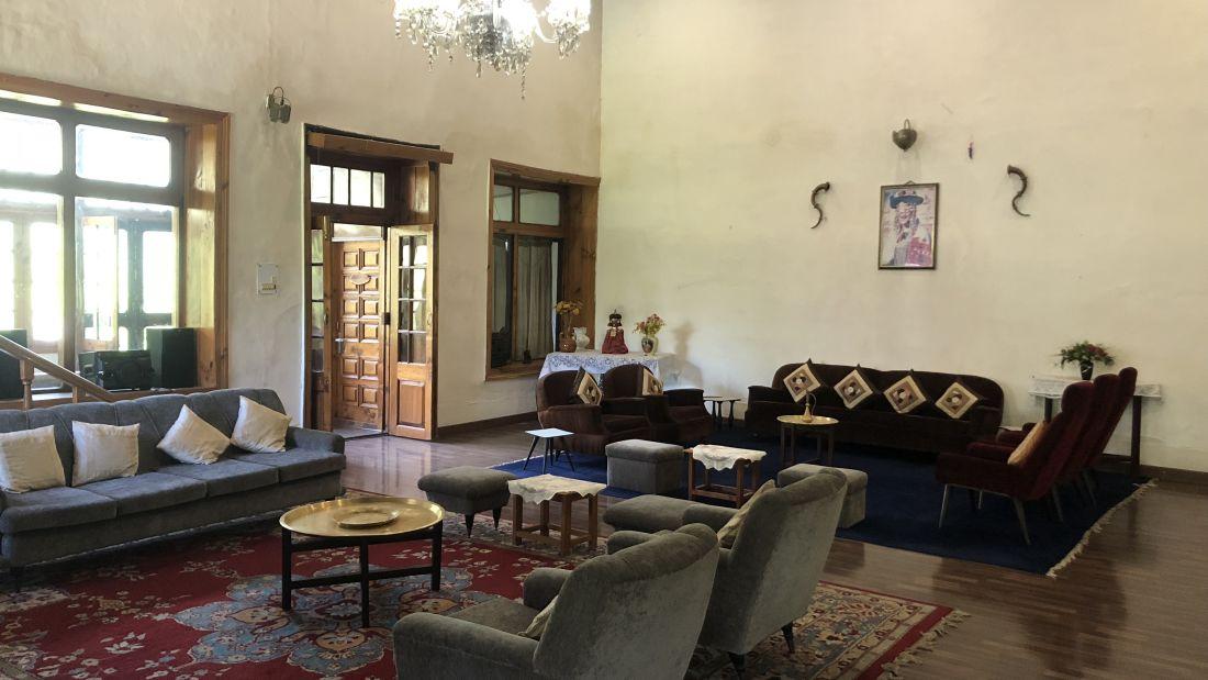 Hall at  Ramgarh Heritage Villa, Manali 2