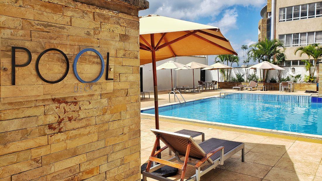 Swimming pool at Boma Nairobi, hotel in Nairobi 4