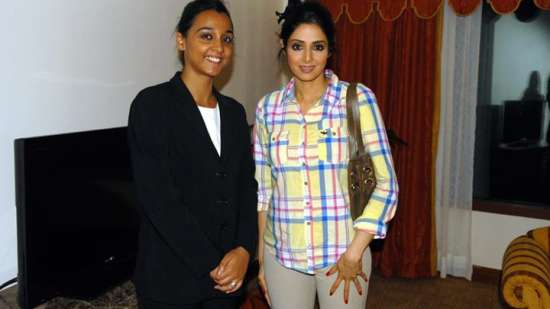 Sridevi at The Orchid Hotel Mumbai