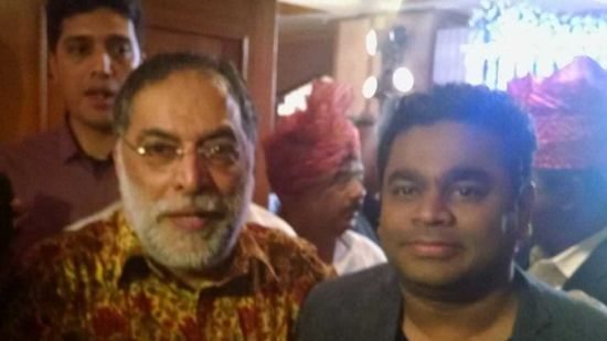 A R Rehman at The Orchid Hotel Mumbai