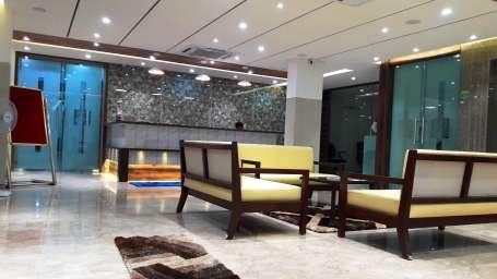 Hotel Ashray Inn Express Ahmedabad Hotel Reception   Lobby