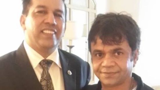 Rajpal Yadav at The Orchid Hotel Mumbai