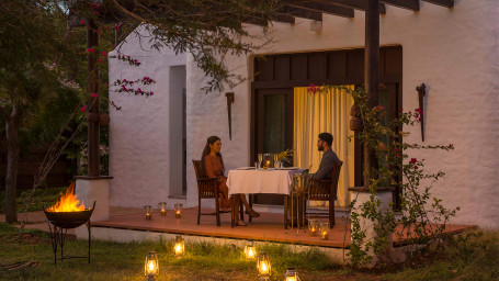 Romantic Dinner at The Serai Bandipur, Resorts In Bandipur National Park