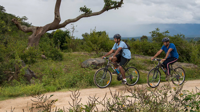 Mountain Bike Trail, The Serai Chikmagalur, Trail Biking in Chikmagalur