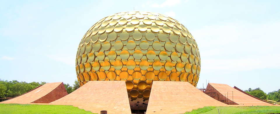 Matrimandir , Hotel Le Dupliex Pondicherry