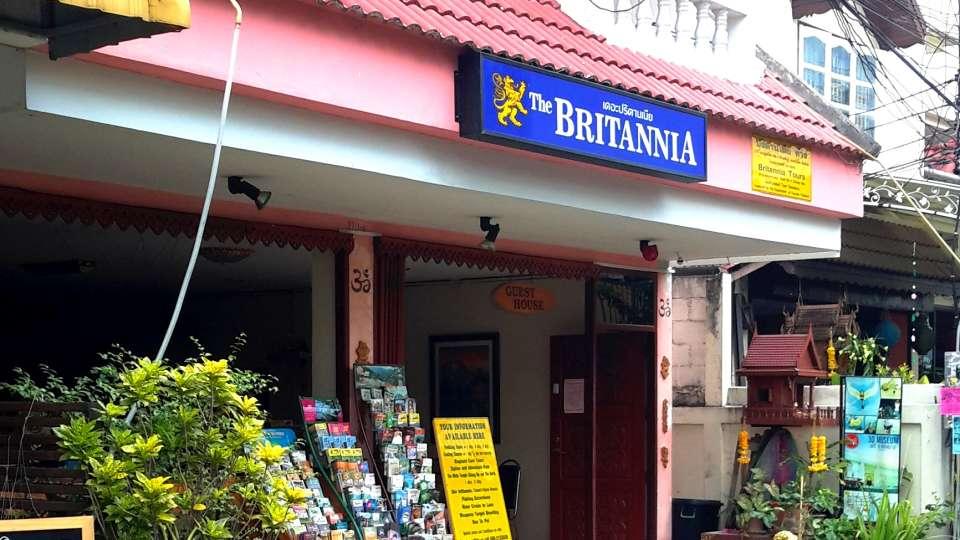Hotel The Britannia, Chiang Mai Chiang Mai Entrance Hotel The Britannia Chiang Mai