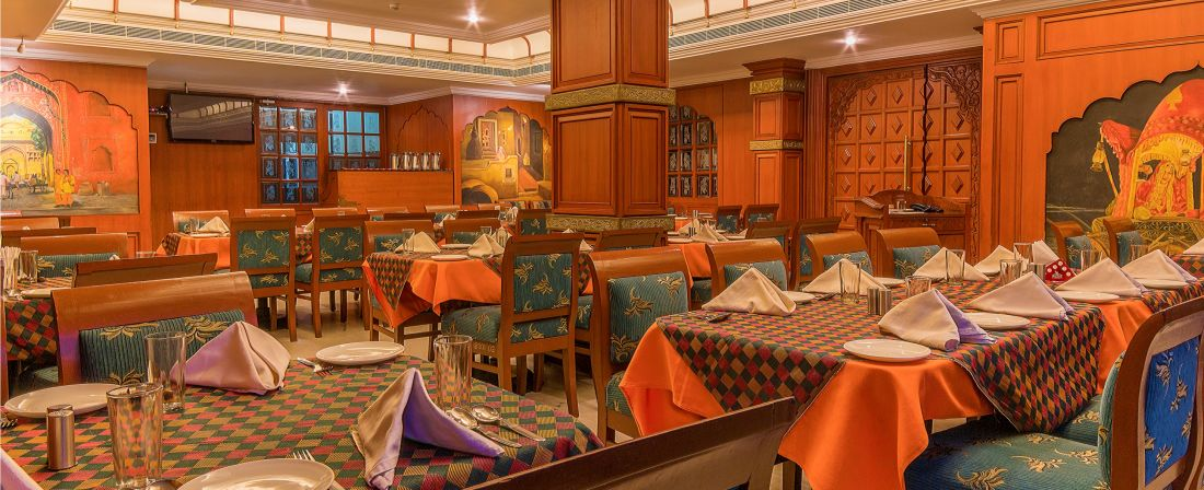 Hotel Annamalai International, Pondicherry Pondicherry Haveli - 1 - Veg Restaurant Hotel Annamalai International Pondicherry 2