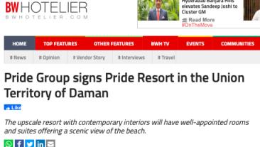 Pride daman BW Hotelier 9-8-21