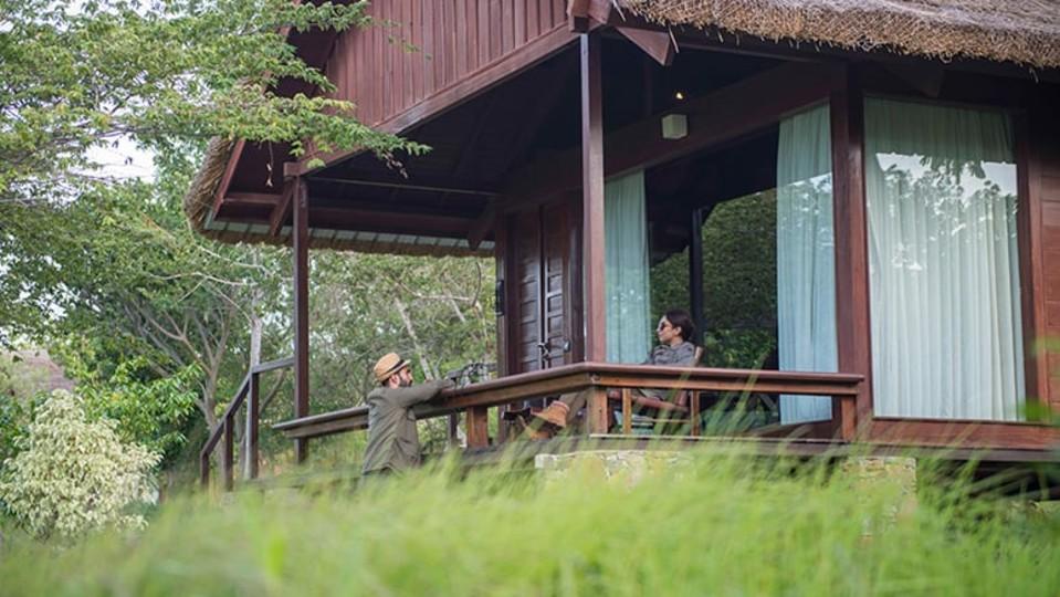 Mountain View Log Hut, Stay in Bandipur, The Serai Bandipur,  Luxury Resorts in Bandipur 4