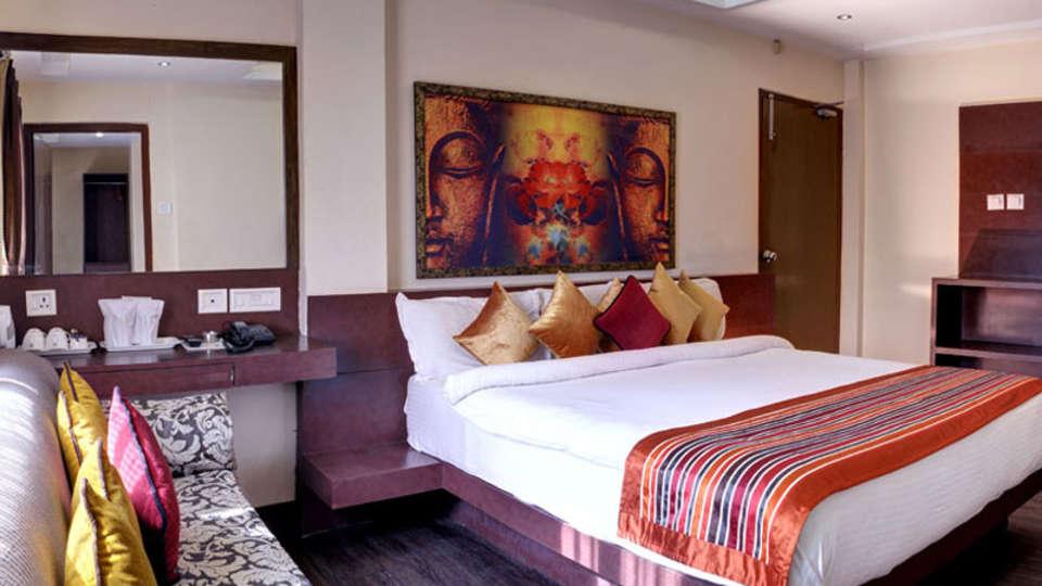 AC Family Room Mount Embassy Hotel Siliguri