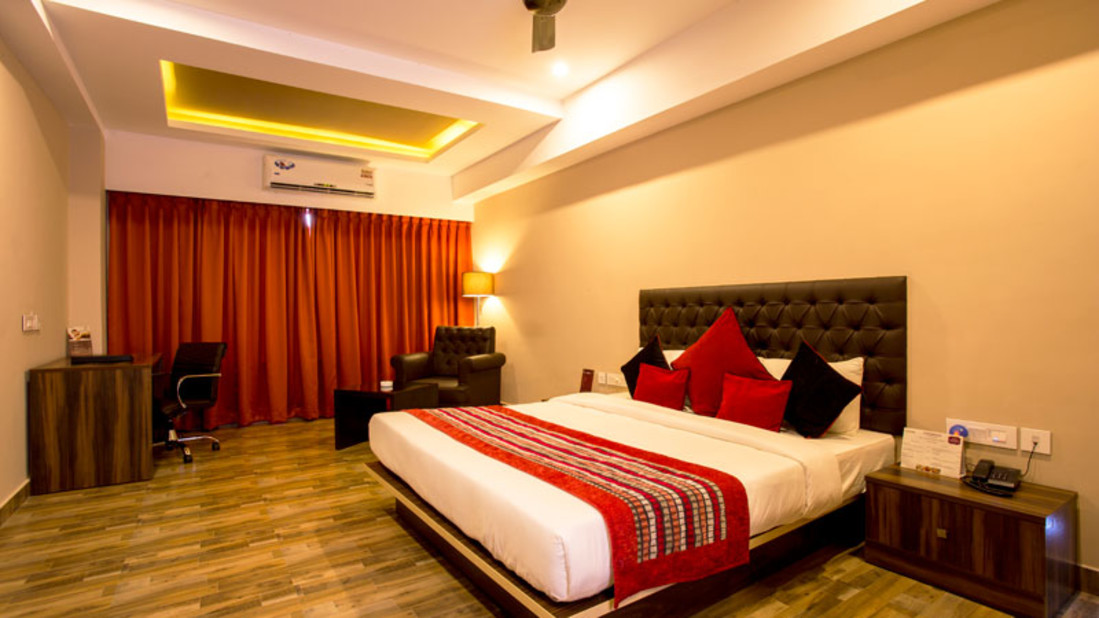 Deluxe Room at Mount Milestone Hotel Banquet Siliguti Hotels in Siliguri