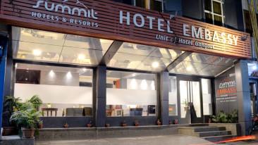 Facade Mount Embassy Hotel Siliguri Hotels in Siliguri