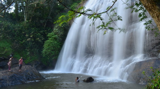 Water Falls in Coorg, Amanvana Resort Spa, Places To Visit In Coorg