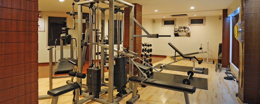 alt-text Renest River Country Resort  Manali Gym