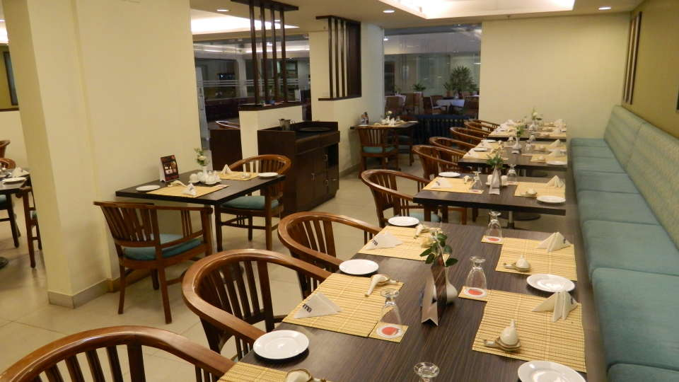 Evoma Hotel, K R Puram, Bangalore Bangalore The Courtyard Restaurant K R Puram Bangalore 6