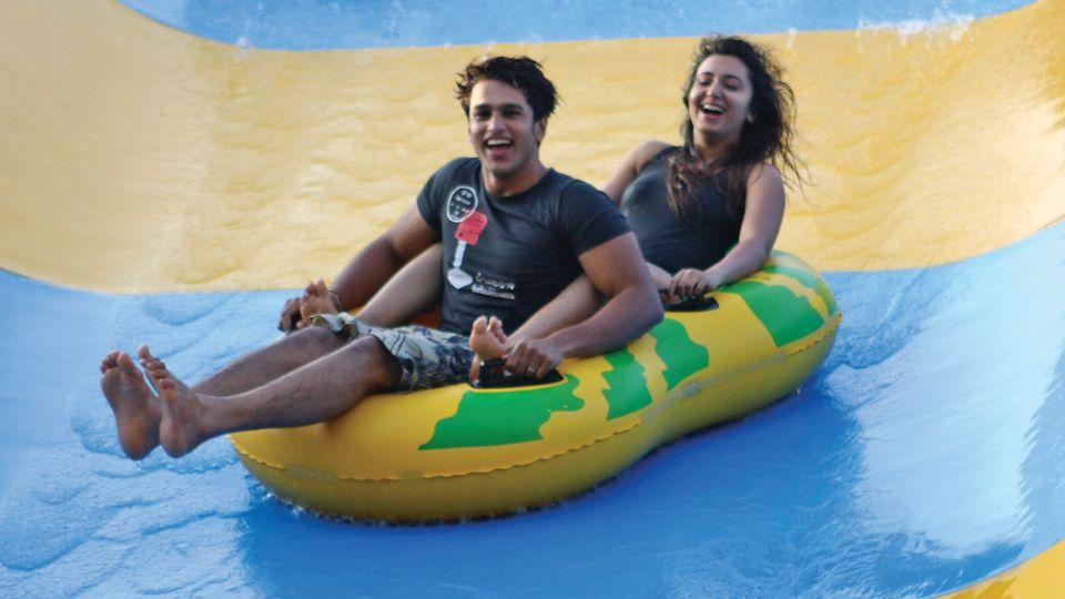 Water Rides - Boomerang at  Wonderla Amusement Park Bengaluru