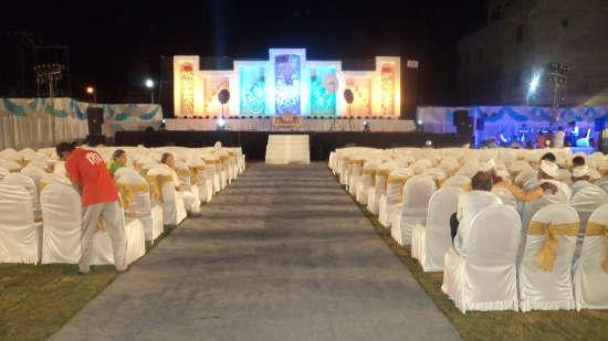 Banquet at Pushpak Resort, Shirdi