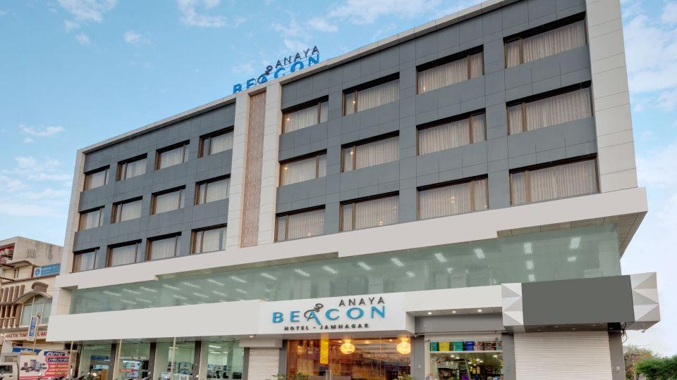 Facade of Anaya Beacon Hotel in Jamnagar 2