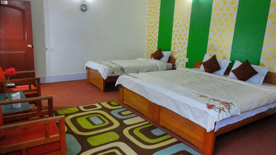 White Conch Residency, Gangtok Gangtok Super Deluxe Triple Room White Conch Residency Gangtok 2