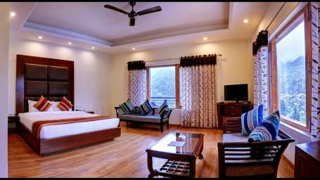 Deluxe Room at Summit Chandertal Regency Hotel Spa Manali 10