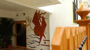 Hotel Raj Comforts, near Old Airport Road, Bangalore Bangalore facade hotel raj comforts near old airport road bangalore