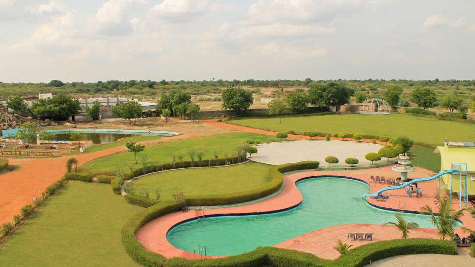 The Palm Resort, Bhilwara Bhilwara Party Lawn The Palm Resort Bhilwara